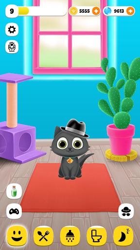 PawPaw Cat | My Virtual Cat Petting Cute Animal 1.1.4 screenshots 1