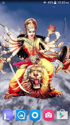 4D Maa Durga Live Wallpaper 8.5 screenshots 2