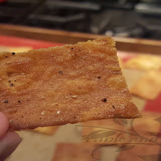Low Carb Lavash Crackers.