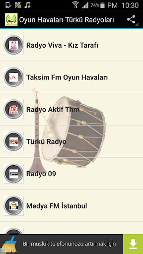 Oyun Havaları-Türkü Radyoları