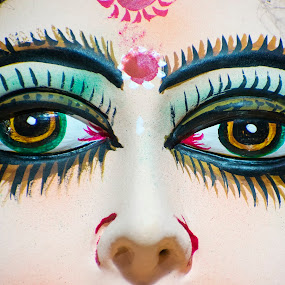 Painted face by Basant Malviya - People Body Parts ( painted face,  )