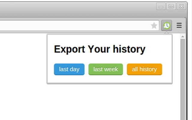 History export