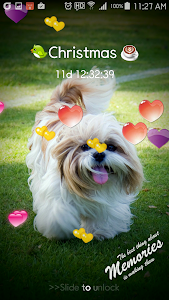 Heart Keypad Lock Screen screenshot 6