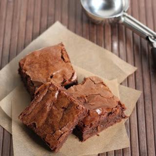 Chewy-Dense Brownies.