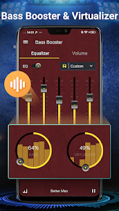 Ecualizador – Amplificador de volumen,de bajos 4