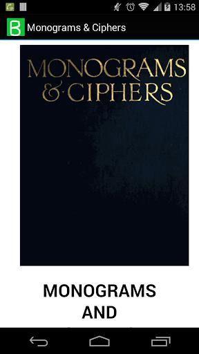 Monograms Ciphers