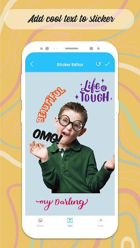 Personal Sticker Maker - WAStickerApps screenshots 3
