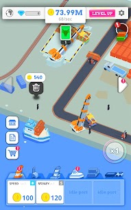 Idle Port Tycoon Mod Apk Download For Android and Iphone 5
