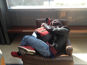 Photo: Long day.