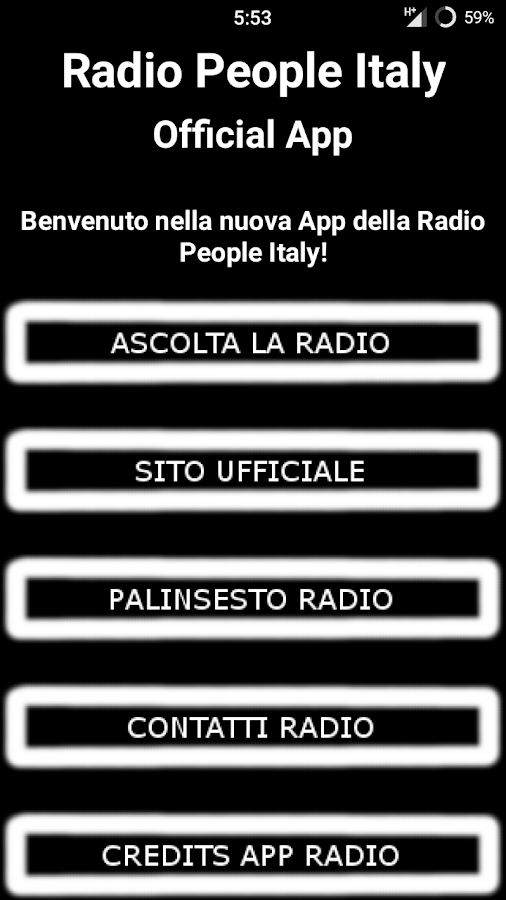 Radio People Italy- screenshot