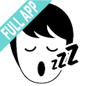 Stop snoring aid-Full App-info & personal warning icon