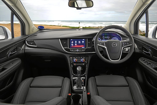 It has now inherited the dashboard layout from the Astra.  Picture: QUICKPIC