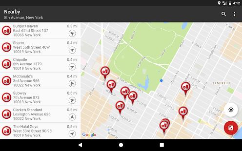 Fast Food Locator / Finder Screenshot 6