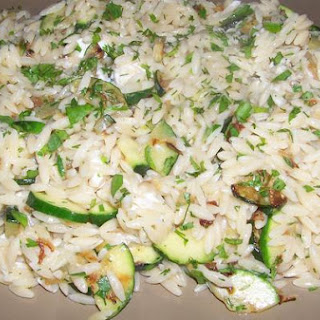 Orzo and Zucchini With Dill