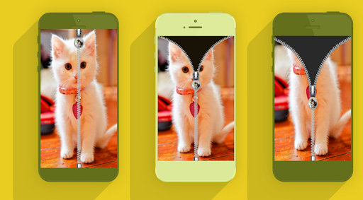 猫ジップロック画面