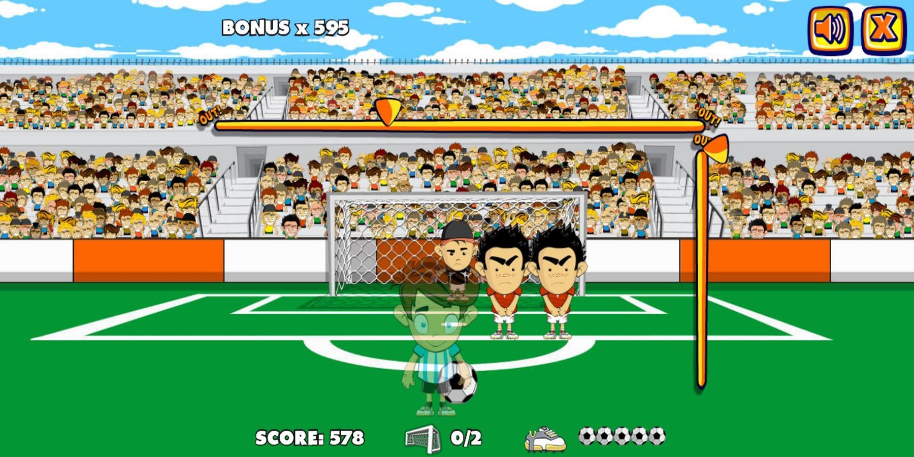 play free kick games