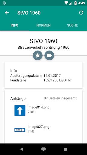 Lawdroid AT – Österreichische Gesetze und EU-Recht screenshot 2