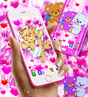 Teddy bear live wallpaper apps on google play screenshot image voltagebd Gallery