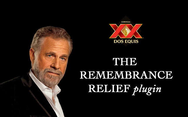 Remembrance Relief Plugin