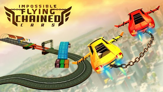 Download Impossible Flying Chained Car Games for PC