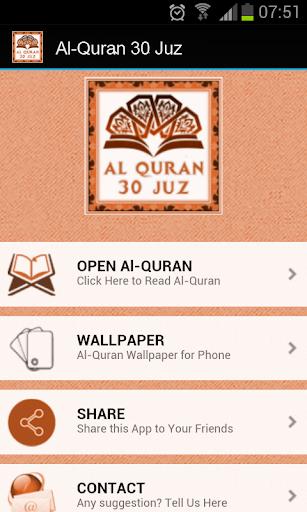 Al-Quran 30 Juz - Read Koran