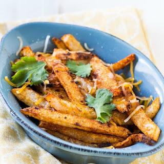 Spicy Baked Jicama Fries.