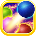 Ball shoot space icon