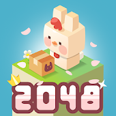 2048 Bunny Maker - bunny city building