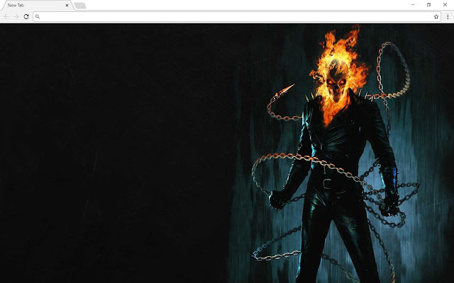 Ghost Rider New Tab & Themes