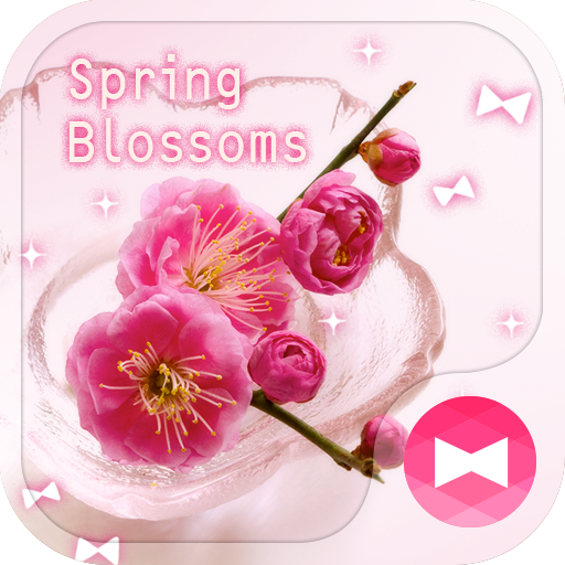 Flower Theme Spring Blossoms Icon