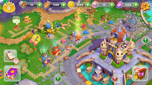 Cats & Magic: Dream Kingdom apkdebit screenshots 18