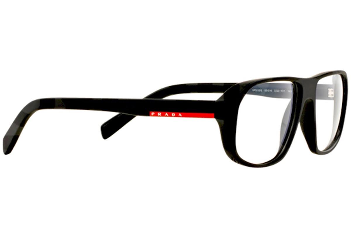 ebb270efe0e2e2 Acheter Montures Optiques Prada Linea Rossa PS 05GV C55 DG01O1 ...