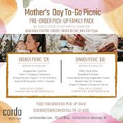 MOTHER'S DAY BRUNCH PICNIC (serves 3-4 adults) - Pre-Order Pick Up
