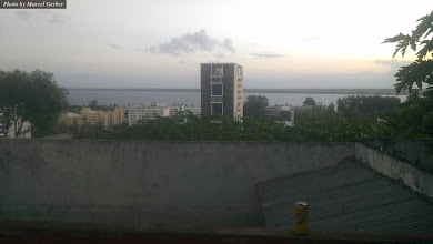 Photo: View from Base Backpackers Maputo