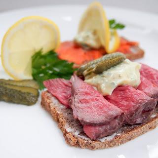 Danish Smørrebrød (open Sandwiches) #foodieextravaganza