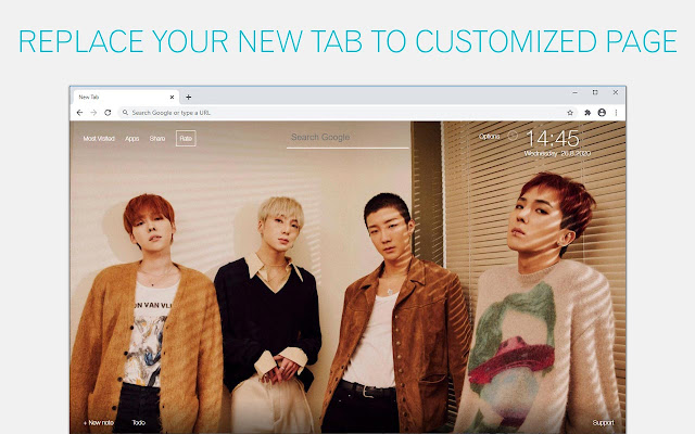 Kpop WINNER Wallpaper HD Kpop WINNER New Tab