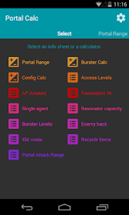 Portal Calc for Ingress- screenshot thumbnail