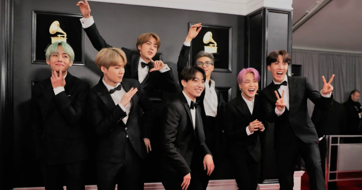 Everyone Wanted To Take Pictures With Bts At The 2019 Grammy Awards Red Carpet Koreaboo