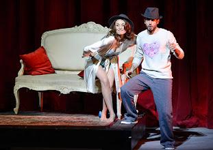 Photo: WIENER STAATSOPER: DON PASQUALE. Inszenierung: Irina Brook. Premiere: 26.4.2015. Valentina Nafornita, Alessio Arduini. Copyright: Barbara Zeininger.