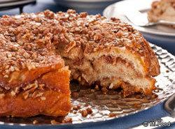 Cinnamon Bun Pie Recipe