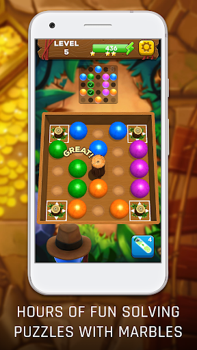Marble Adventures: Skill-based Puzzle Game screenshot 2