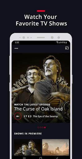 HISTORY: Watch TV Show Full Episodes & Specials 3.3.4 screenshots 1
