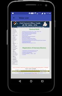 Online Voter Id Service 2018 - náhled