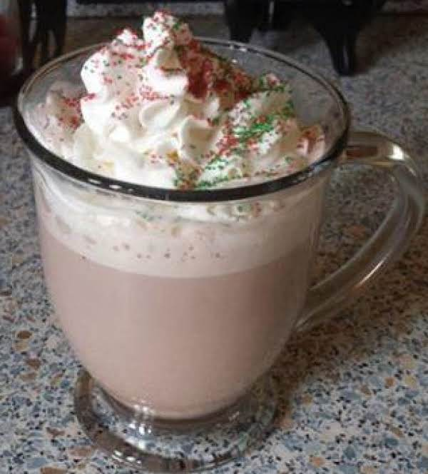 Cold Days, Warm Nights Eggnog Hot Chocolate