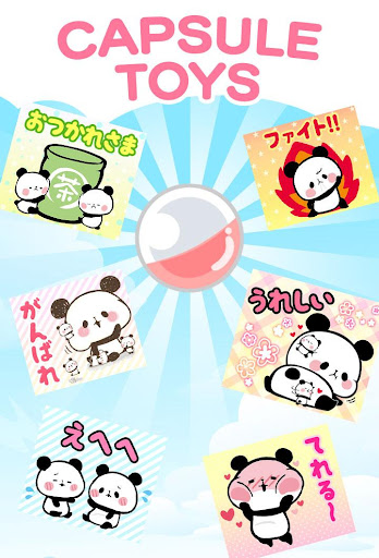 MOCHI MOCHI PANDA Stickers Free 2.1.21 screenshots 5