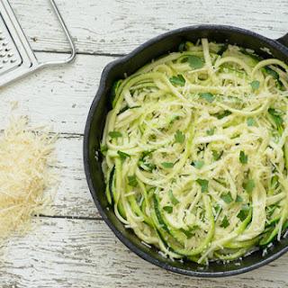 Parmesan Garlic Zoodles