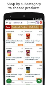 redcart - Grocery Shopping App screenshot 3