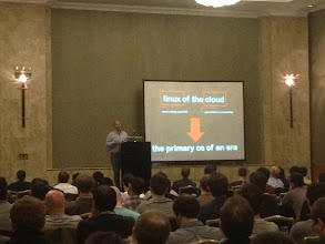Photo: Mark Lucovsky keynote, London: Cloud Foundry is the Linux of the Cloud