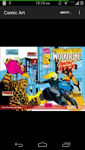 Comic Book Art screenshot 1