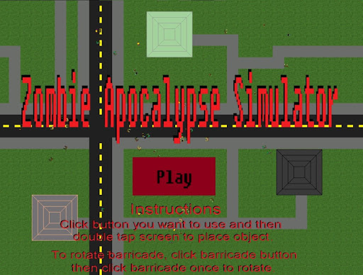 Zombie Apocalypse Simulator (Demo Version)  captures d'u00e9cran 1